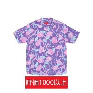 シュプリーム(Supreme)のSupreme Lily Rayon Shirt 紫M(シャツ)