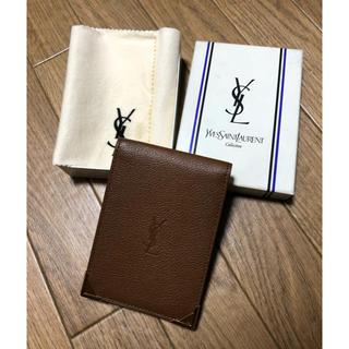 イヴサンローランボーテ(Yves Saint Laurent Beaute)のイヴ・サンローラン☆カードケース パスケース(名刺入れ/定期入れ)