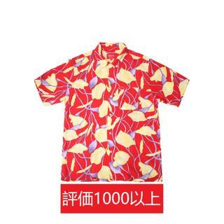 シュプリーム(Supreme)のSupreme Lily Rayon Shirt 赤M(シャツ)