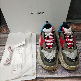 バレンシアガ(Balenciaga)のBALENCIAGA triples 42 国内正規品 (スニーカー)