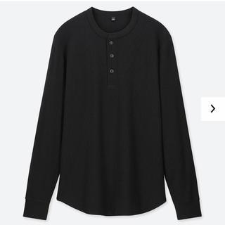 ユニクロ(UNIQLO)の【新品未使用】ヘンリーネックTシャツ(Tシャツ/カットソー(七分/長袖))