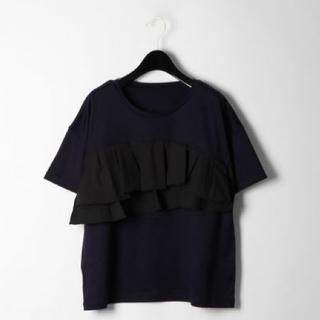 GRACE CONTINENTAL - グレースコンチネンタル フリルレイヤードTシャツ