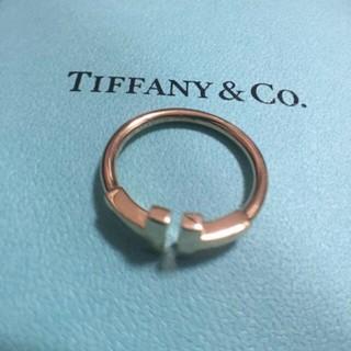 ティファニー(Tiffany & Co.)のTiffany Tワイヤーリング♯9(リング(指輪))