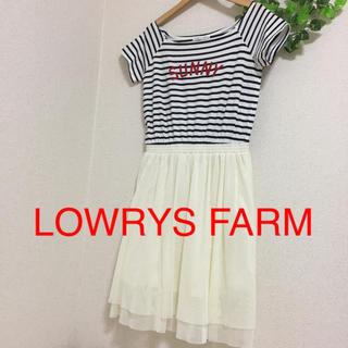 LOWRYS FARM - ローリーズファーム ドッキングワンピース リランドチュール ナイスクラップ