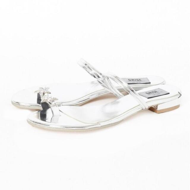 Le Talon(ルタロン)のLe Talon スタービジューサンダル 23.5 レディースの靴/シューズ(サンダル)の商品写真