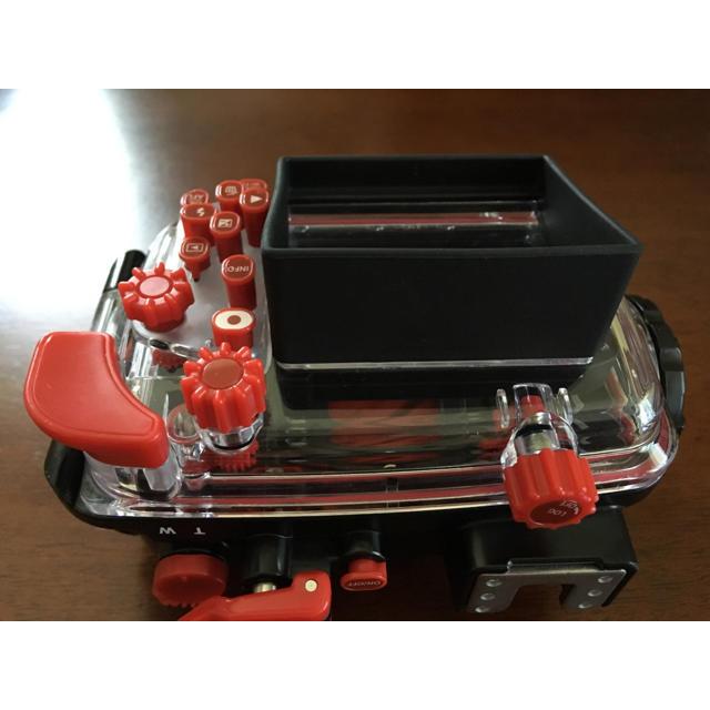 OLYMPUS(オリンパス)のOLYMPUS オリンパス 防水プロテクター PT-058 TG-5用 スマホ/家電/カメラのカメラ(コンパクトデジタルカメラ)の商品写真