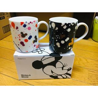 フランフラン(Francfranc)のフランフラン☆ミッキー&ミニーマグカップ♡(グラス/カップ)
