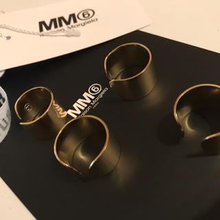 マルタンマルジェラ(Maison Martin Margiela)のマルジェラ4連リング(リング(指輪))