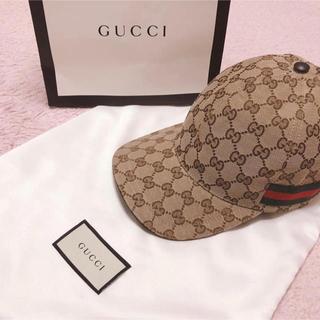 グッチ(Gucci)の帽子(キャップ)
