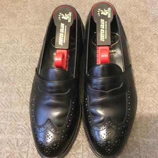 スコッチグレイン ローファー 革靴 コイン ウイングチップ(ドレス/ビジネス)
