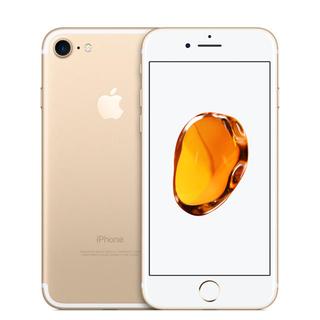 アップル(Apple)のiPhone7 128GB  simフリー ゴールド(携帯電話本体)