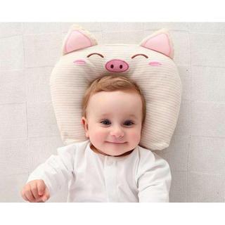 ベビー 枕 ドーナツ まくら 新生児 赤ちゃん 夜泣き 寝ハゲ 対策 出産祝い