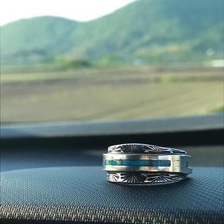 ロンハーマン(Ron Herman)のRHJ / Silver Turquoise Ring(リング(指輪))