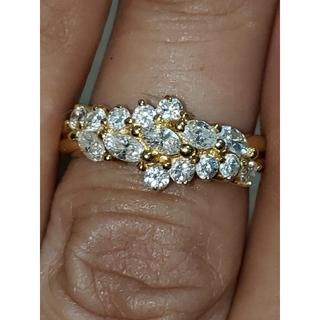 k18 リング ダイヤモンド