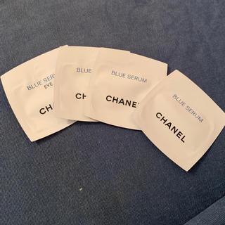 シャネル(CHANEL)のブルーセラムサンプル(美容液)