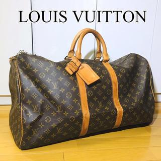 LOUIS VUITTON - 【美品】LOUIS VUITTON*ルイヴィトン*モノグラム*キーポル55