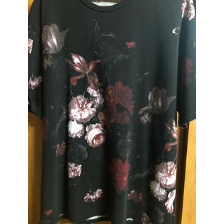ラッドミュージシャン(LAD MUSICIAN)のLADMUSICIAN 赤薔薇 ビッグT46(Tシャツ/カットソー(半袖/袖なし))