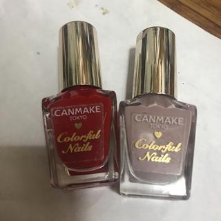 キャンメイク(CANMAKE)のCANMAKE カラフルネイルズ(マニキュア)