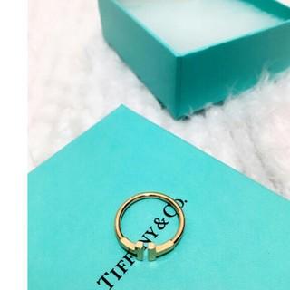 ティファニー(Tiffany & Co.)のTiffany Tワイヤー 指輪(リング(指輪))