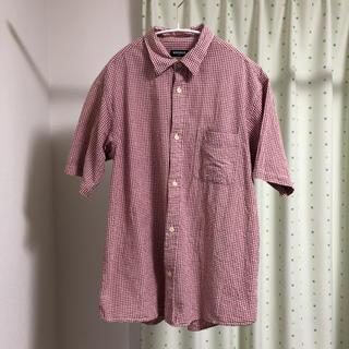 ユニクロ 半袖シャツ チェックシャツ XL