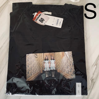 GU - 新品 GU シャイニング Tシャツ S ブラック