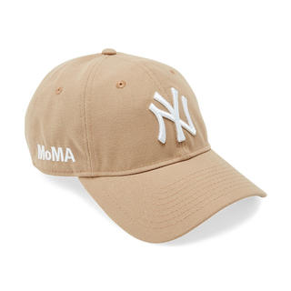 NEW ERA - 新品 US限定 MOMA x Yankees New Era Cap キャメル
