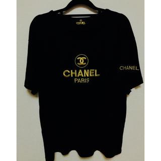 シャネル(CHANEL)の【美品】CHANEL シャネル  Tシャツ(Tシャツ/カットソー(半袖/袖なし))