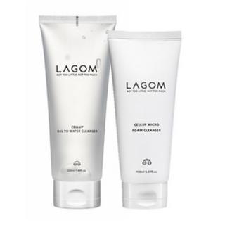 [新品未使用]ラゴム LAGOM 朝夜セット 洗顔 クレンザー デュオ