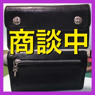 クロムハーツ(Chrome Hearts)の☆クロムハーツ ウェーブ ウォレット ☆(長財布)