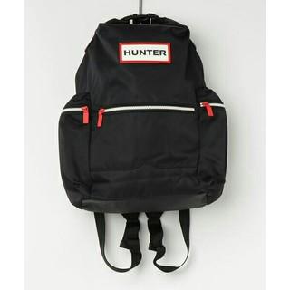 ハンター(HUNTER)の新品 HUNTER ナイロンバックパック ブラック リュック 17L ハンター(リュック/バックパック)