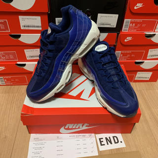 ナイキ(NIKE)のNIKE WMNS AIR MAX 95 SE Blue Void White(スニーカー)