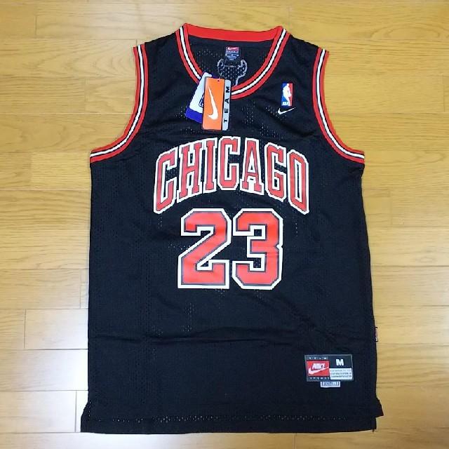 NIKE(ナイキ)のNBA シカゴブルズ マイケルジョーダン ユニフォーム ゲームシャツ Mサイズ スポーツ/アウトドアのスポーツ/アウトドア その他(バスケットボール)の商品写真