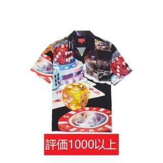 シュプリーム(Supreme)のSupreme Casino Rayon Shirt 黒S(シャツ)