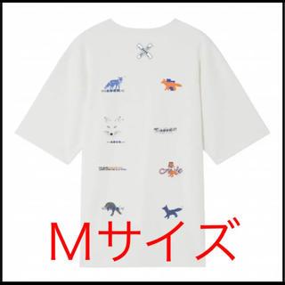 メゾンキツネ(MAISON KITSUNE')のアーダーエラー メゾンキツネ コラボTシャツ Mサイズ(Tシャツ/カットソー(半袖/袖なし))