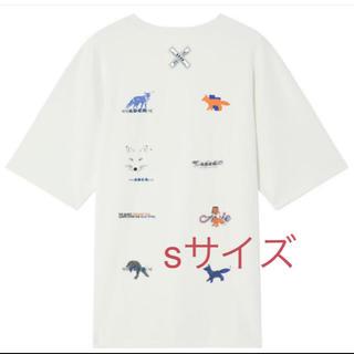 メゾンキツネ(MAISON KITSUNE')のadererror × maison kitsune  Tシャツ(Tシャツ/カットソー(半袖/袖なし))