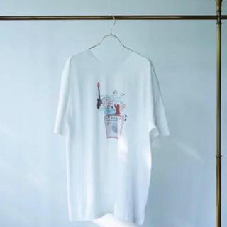 京都音博 × くるり × たなかみさき tシャツ(Tシャツ(半袖/袖なし))