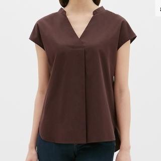 ジーユー(GU)の新品未使用・GUスキッパーシャツ(シャツ/ブラウス(半袖/袖なし))