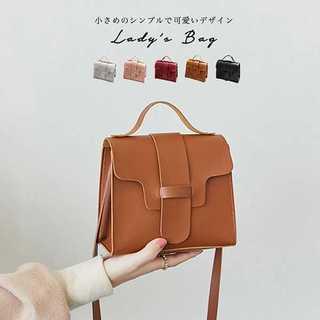 ★5カラー コンパクトショルダーバッグ★(ショルダーバッグ)