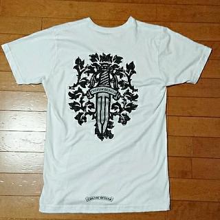 クロムハーツ(Chrome Hearts)のセール❗クロムハーツ ダガーTシャツ ホワイト(Tシャツ/カットソー(半袖/袖なし))