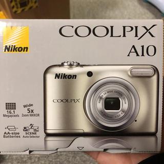 Nikon - ニコン デジタルカメラ クールピクス A10 シルバー