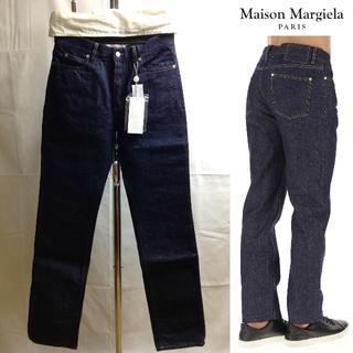マルタンマルジェラ(Maison Martin Margiela)の新品■29■マルジェラ■18ss■リジットカラー ストレート デニム■6187(デニム/ジーンズ)