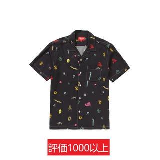 シュプリーム(Supreme)のSupreme Deep Space Rayon S/S Shirt 黒XL(シャツ)