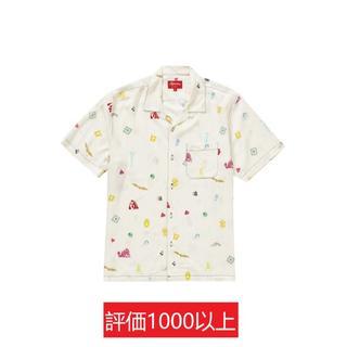 シュプリーム(Supreme)のSupreme Deep Space Rayon S/S Shirt 白XL(シャツ)