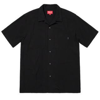 シュプリーム(Supreme)のSupreme playboy rayon s/s shirt 黒M(シャツ)
