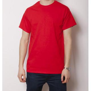 GILDAN 6.0オンス ウルトラコットン 無地Tシャツ レッド(Tシャツ/カットソー(半袖/袖なし))