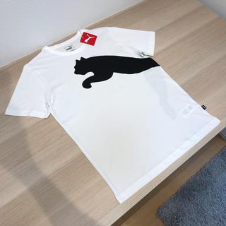 プーマ(PUMA)の新品 PUMA プーマ ビッグロゴ Tシャツ ピューマ キャット プリント M(Tシャツ/カットソー(半袖/袖なし))