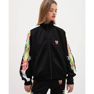 doubletChaos Embroidery Track Jacket M(ジャージ)
