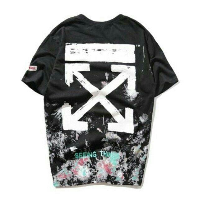 OFF-WHITE(オフホワイト)の OFF WHITE Tシャツ 半袖 メンズ レディース メンズのトップス(Tシャツ/カットソー(半袖/袖なし))の商品写真