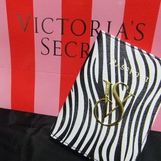 ヴィクトリアズシークレット(Victoria's Secret)の送込み★新品ヴィクトリアシークレット★ゼブラ柄パスポートケース (その他)