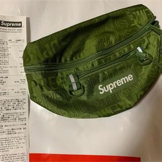 Supreme - supreme Waist Bag 緑